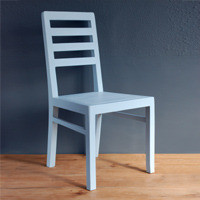 Duck Egg Blue Dining Chairs traditional-dining-chairs