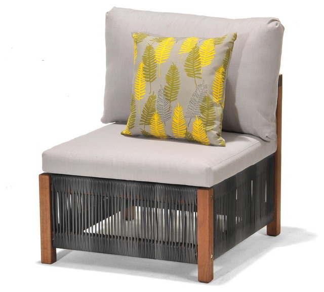 Patio by jamie durie gymea modular chair contemporary for Outdoor furniture big w