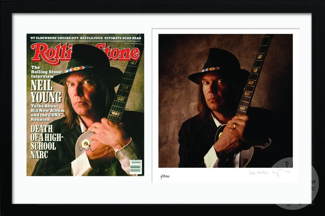 'Rolling Stone' Cover Series, Neil Young, June 1988 contemporary-artwork