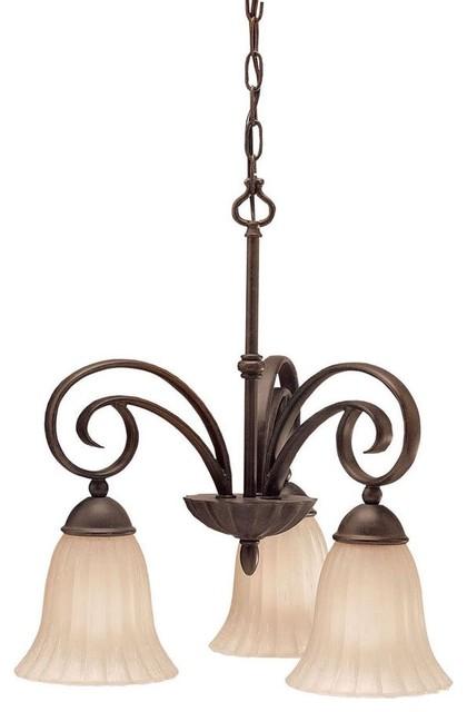 KICHLER 3326TZ Willowmore Traditional Pendant Light traditional-lighting