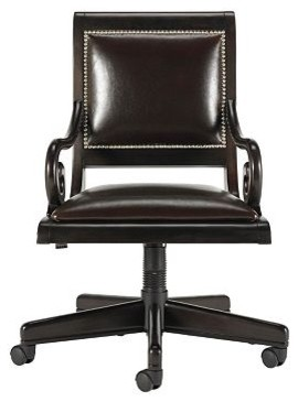 Postobello Home Sofia Swivel Desk Chair traditional-task-chairs