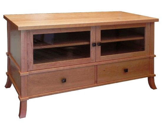 Neufeld Furniture Occasionals - Solid Cherry television console, 48 x 21 x 26h, customization available
