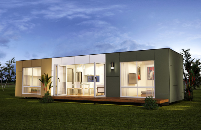 San Marino Two Bedroom Prefab Container Home Modern Prefab