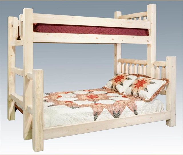 Twin Over Full Bunk Bed Rustic Kids Beds By Shopladder