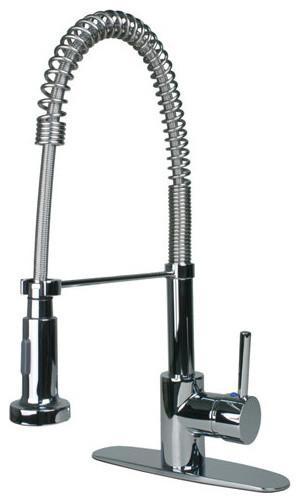 ultra faucets 1572 0113 chrome euro euro kitchen faucet