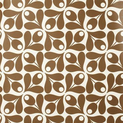 Orla Kiely Acorn Wallpaper modern-wallpaper