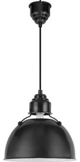 Thomas O'Brien Large Eugene Pendant Light traditional-pendant-lighting