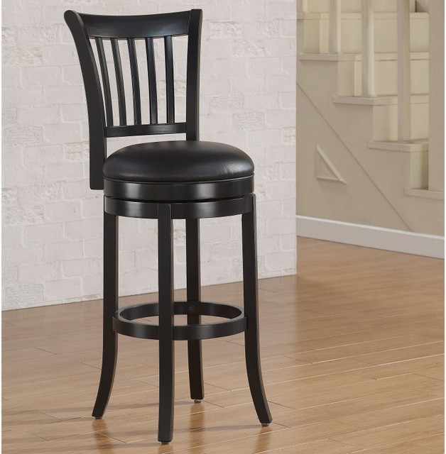 American Woodcrafters Keaton Extra Tall Bar Stool Flat