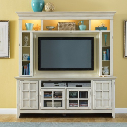 New Generation Entertainment Center - modern - home electronics ...