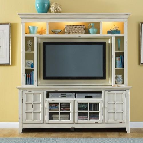 New Generation Entertainment Center - modern - home electronics ...