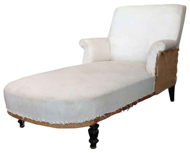 Chaise Lounges Transitional Indoor Chaise Lounge Chairs new york by 1