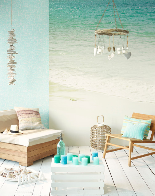 Ibiza Beach Style other metro by Brewster Home Fashions