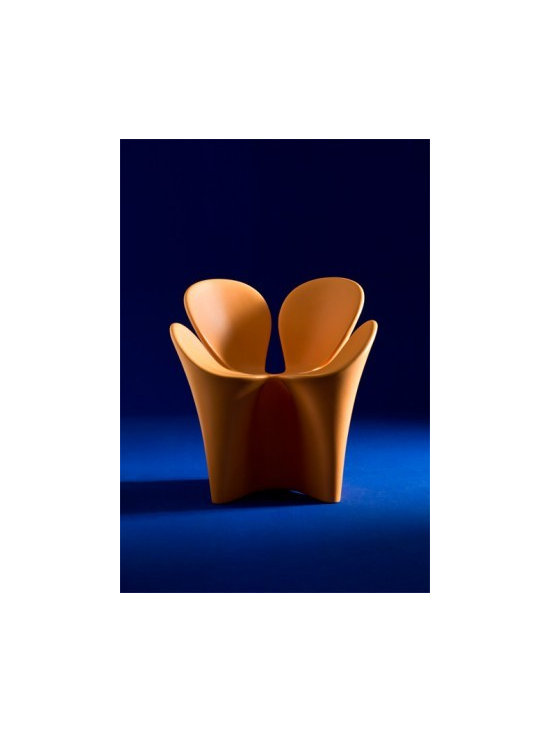 Clover Chair by Ron Arad - In stock in the USA in white, green and orange