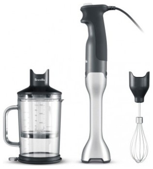 Breville The Control Grip Immersion Blender - Stainless modern-blenders