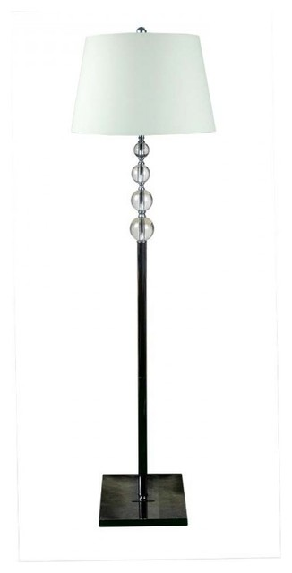 Large Crystal Floor Standing Lamps For Living Room White