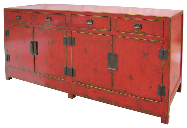 ... Drawers and Four Doors - Asian - Buffets And Sideboards - by Custom