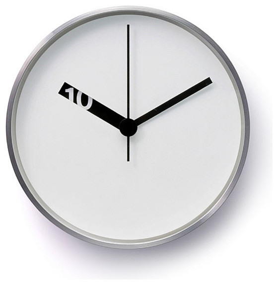 Extra normal wall clock contemporary wall clocks by - Oversized modern wall clock ...