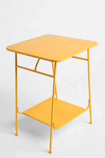 Factory Side Table, Yellow modern-side-tables-and-end-tables