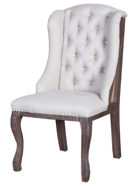 Deconstructed antique white arm chair for White dining chairs with arms