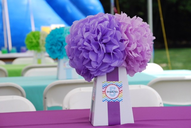Tissue Paper Pompoms Flowers Modern Denver By Create And Adorn