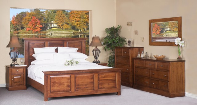Solid Wood Furniture solid wood bedroom furniture.. american western design style villa