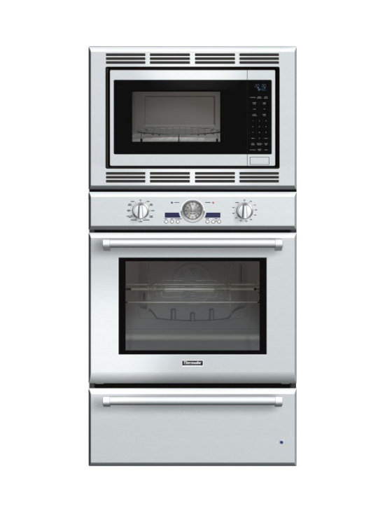 """Thermador Professional 30"""" Triple Combination Wall Oven, Stainless 