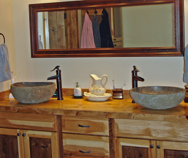 Magnificent Rustic Bathroom Vanities Vessel Sinks 640 x 536 · 117 kB · jpeg