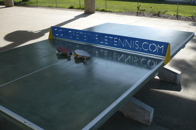 Outdoor Concrete Table Tennis Tables