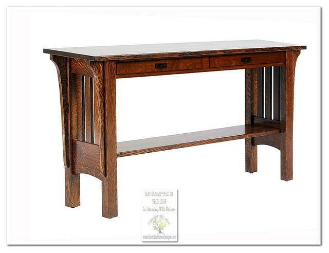 Mission Console Tables - Craftsman - Console Tables - chicago - by Green Craftsman Designs, Inc.