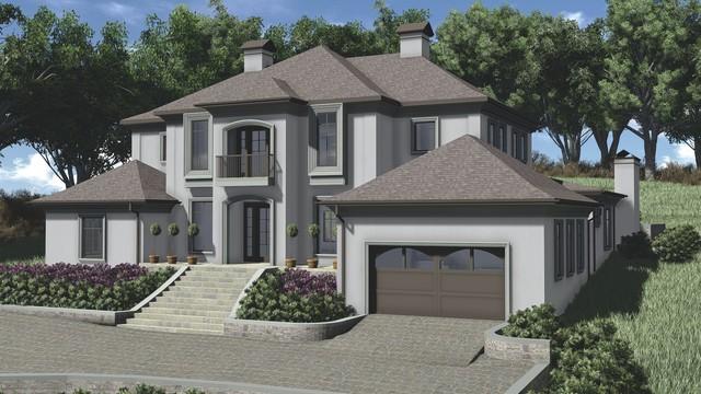 Green Hills Nashville House #1 traditional-rendering