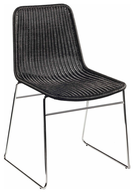 Selamat Designs Black Ensign Stacking Chair contemporary-armchairs