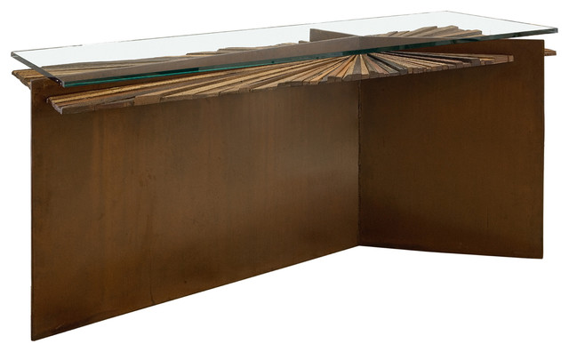 Mandala Console modern buffets and sideboards