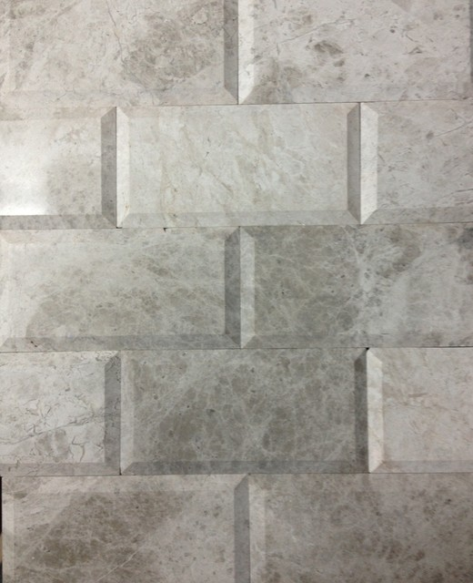 """New Beveled Marble 3""""x6"""" Tiles New Colors in Stoc Now"""