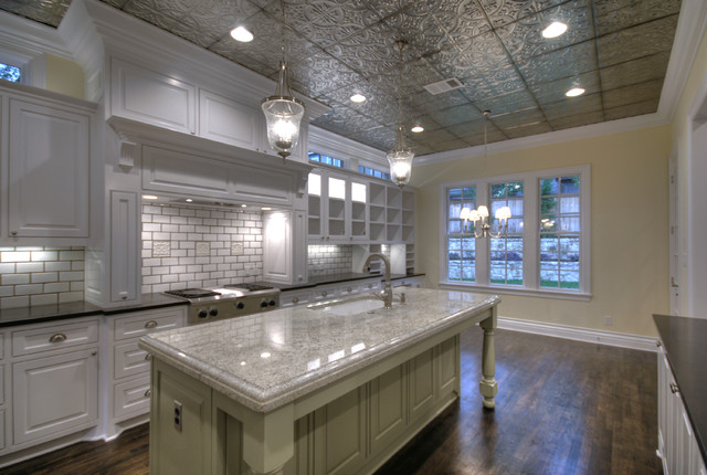 Http Www Houzz Com Photos 8377461 Kitchen Ceilings Tin Tiles Traditional Kitchen Tampa