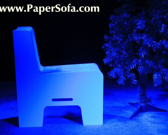 Flex7 - Paper Sofa - Eco Friendly 7.5m long Honeycomb Paper Couch - PaperSof