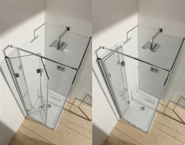 SHOWER INFOLD DOOR shower-doors