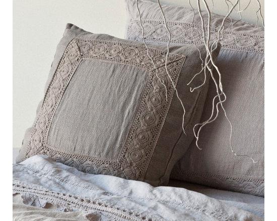 Homespun Throw Pillow -