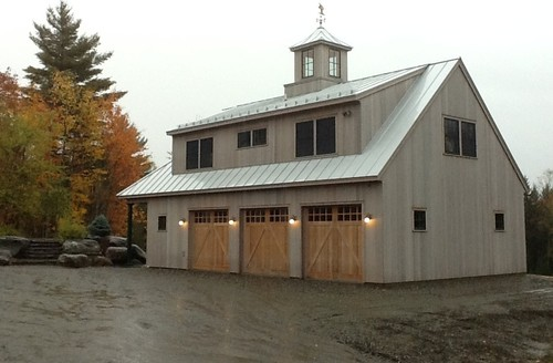 Stowe carriage barn for Due bay garage