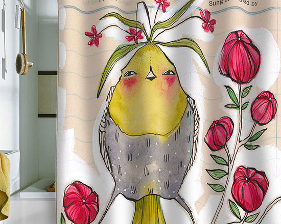 DENY Designs Cori Dantini Sweetness And Light Shower Curtain