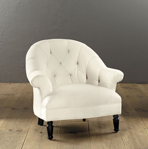 Julia Upholstered Chair traditional-accent-chairs