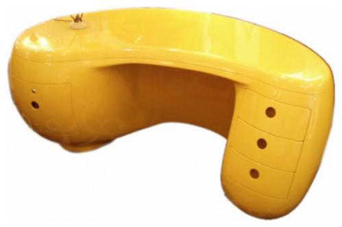 Rare Boomerang Desk by Maurice Calka for Leleu-Deshays modern-desks-and-hutches