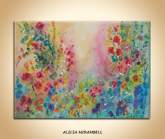 Cottage Flowers artwork
