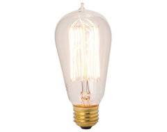 Lazy Susan Exposed Filament Bulb traditional light bulbs