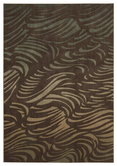"""Somerset ST73 2' x 2'9"""" Brown Rug contemporary-rugs"""