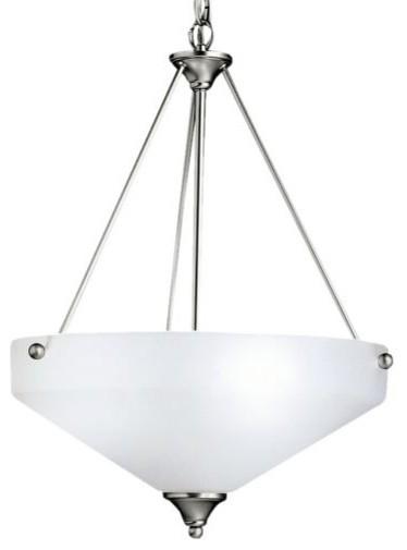 Ansonia Bowl Pendant by Kichler modern-pendant-lighting
