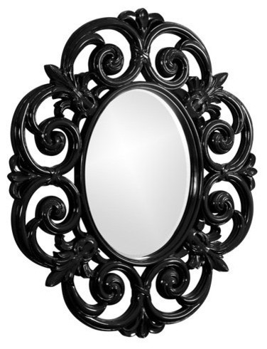 Custom Color Antoinette Mirror - 44W x 50H in. contemporary mirrors