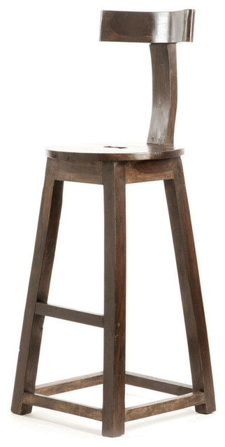 modern industrial rustic solid wood counter stool traditional bar stools and counter stools. Black Bedroom Furniture Sets. Home Design Ideas