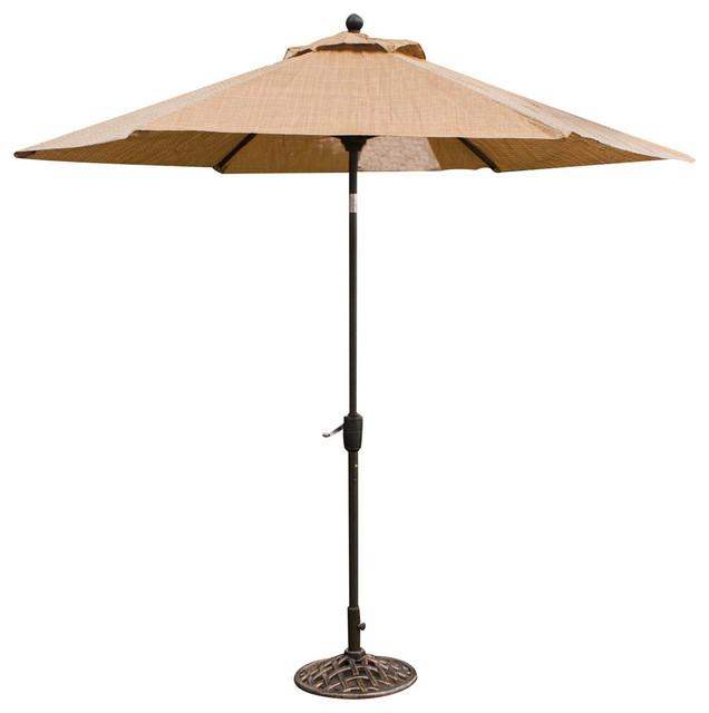 Monaco 9' Market Umbrella contemporary-outdoor-products