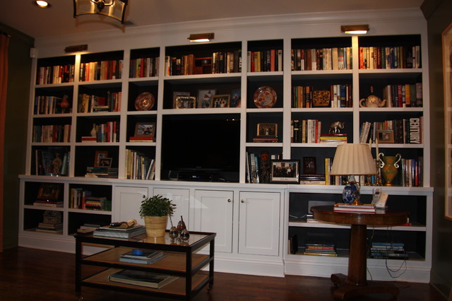 Built in bookcase traditional home office chicago Built in home office designs