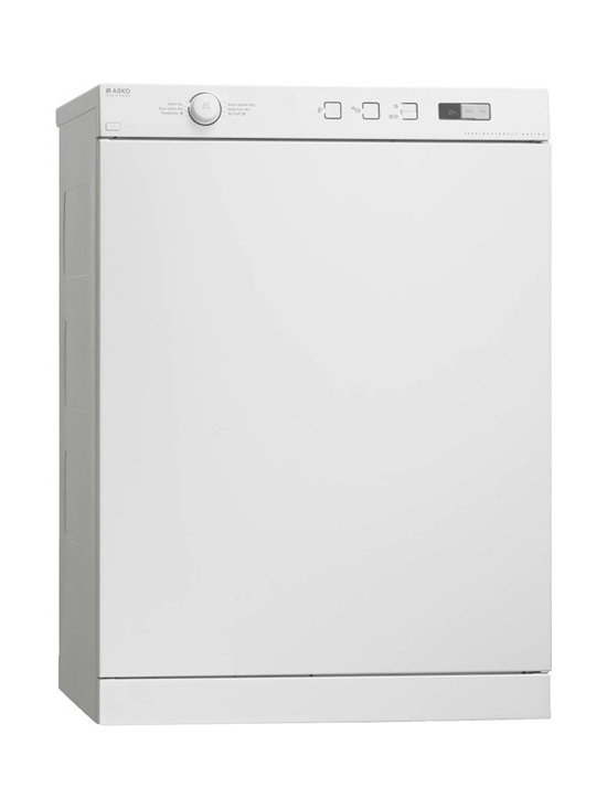 Asko Family Size Vented Dryer, White | T754W -